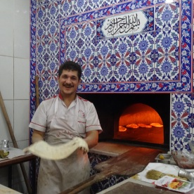 Syrian refugee in new job (Istanbul, Turkey)