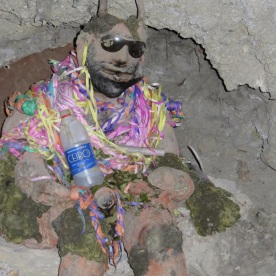 Tio, god of the miners (Potosi, Bolivia)