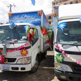 blessing of the trucks (Copacabana, Bolivia)