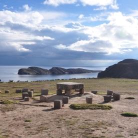 Inca ceremonial site (Isla del Sol, Bolivia)