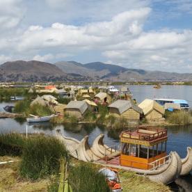 Uros floating village (Puno, Peru)