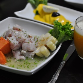 ceviche made by us! Peruvian Cooking Class (Lima, Peru)