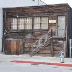 old building on Cannery Row (Monterey, USA)