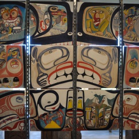 art at Museum of Anthropology (Vancouver, Canada)