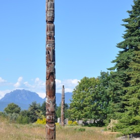 totem poles at MoA (Vancouver, Canada)
