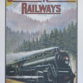 old railways poster (Jasper, Canada)