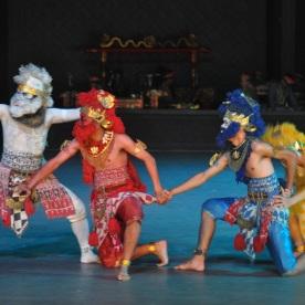Ramayana ballet dance at Prambanan temple (Yogyakarta, Indonesia)