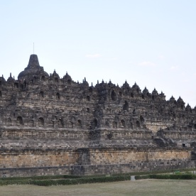 Buddhist temple Borobudur (Yogyakarta, Indonesia)