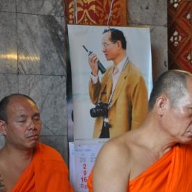 modern king (Doi Suthep, Thailand)