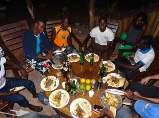 le repas (Sikasso, Mali)