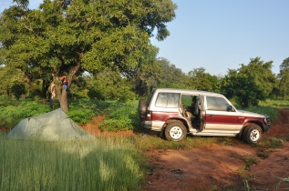 camping (Sikasso, Mali)