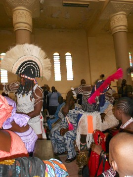 le jour du marriage (Bamako, Mali)