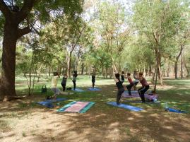 sunday yoga (Bamako, Mali)