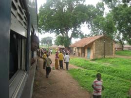 train ride (Kita-Kayes, Mali)